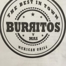 Burritos y Mas Menu