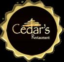Cedar's Restaurant Menu