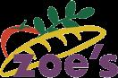 Zoe's Menu