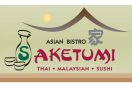 Saketumi Asian Bistro (Formerly Tenda)  Menu
