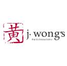 J. Wongs Thai & Chinese Bistro Menu