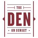 The Den On Sunset Menu
