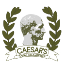 Caesar's Italian Delicatessen Menu