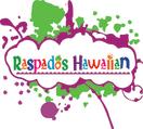 Raspados Hawaiian Menu