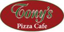 Tony's Pizza Cafe Menu