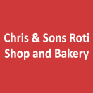 Chris & Sons Roti Shop and Bakery Menu