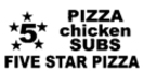 Five Star Pizza & Chicken Menu