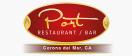 Port Restaurant & Bar Menu