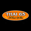 Thai 65 Menu