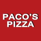 Paco's Pizza Menu