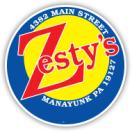 Zesty's Menu