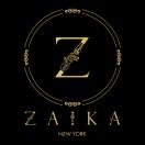 Zaika New York Menu