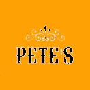 Pete's Menu
