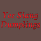 Yee Siang Dumplings Menu