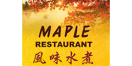 Maple Restaurant Menu