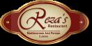 Reza's Restaurant Menu