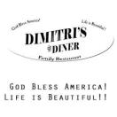 Dimitri's Diner Family Restaurant Menu