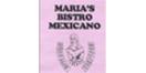 Maria's Bistro Mexicano Menu
