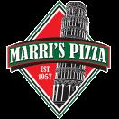 Marri's Pizza Menu