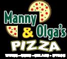 Manny & Olga's Pizza Menu