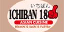 Ichiban 18 Asian Restaurant Menu