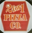 2 for 1 Pizza on Western Menu