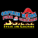 Captain Hook's Fish & Chicken Menu