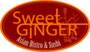 Sweet Ginger Asian Bistro and Sushi Menu