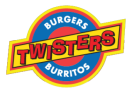 Twisters Burgers and Burritos Menu