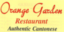 Orange Garden Restaurant LLC Menu