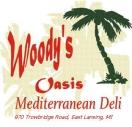 Woody's Oasis Menu
