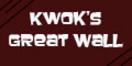 Kwok's Great Wall Menu