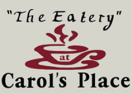 Carol's Place Menu