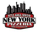 New York Pizzeria Menu