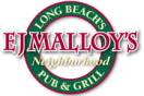 E.J Malloy's Menu