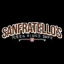 Sanfratello's Pizza Menu