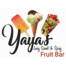 Yaya's Fruit Bar Menu