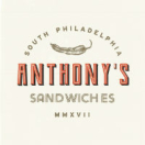 Anthony's Sandwiches Menu
