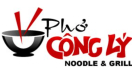 Pho Cong Ly Noodle and Grill Menu