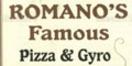 Romano's Famous Pizza & Gyro Menu