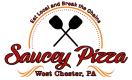 Saucey Pizza Menu