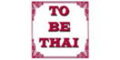To Be Thai Menu