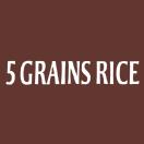 5 Grains Rice Menu