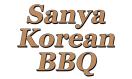 Sanya Korean BBQ Menu