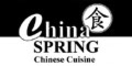 China Spring Chinese Cuisine Menu