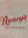 Nancy's Pizzeria Menu