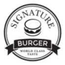 Signature Burger Menu