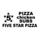 5 Star Pizza & Wings Menu