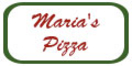Maria's Pizza Menu