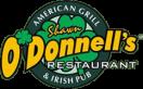 Shawn O'Donnell's American Grill & Irish Pub Menu